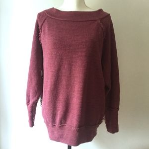 Free People Violet Comfy Sweatshirt